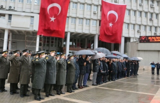 Zonguldak'ta tören düzenlendi