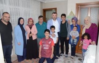 İl Başkanı Keskin,İftarı Kurt ailesi ile açtı