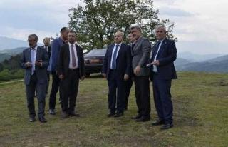 Kurulacak Bal Köy'de Organik Bal Üretimi Yapılacak.