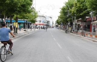 Caddeye motosikletler giremeyecek
