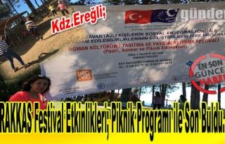 RAKKAS Festival Etkinlikleri; Piknik Programı ile...