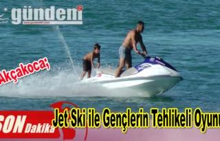 Jet Ski ile Gençlerin Tehlikeli Oyunu