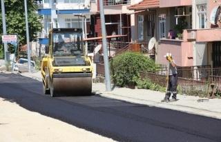 Ankara Caddesi Asfalt Çalışmaları