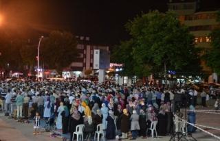 Safranbolu ilçesi 15 Temmuz anma programı düzenlendi.