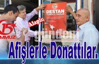 Alaplı TSO'dan Afişlerle Donattılar