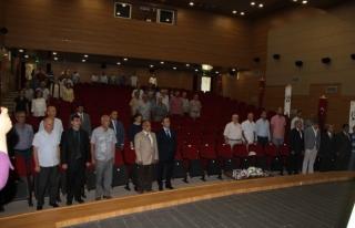 Düzce'de fındık çalıştayı düzenlendi.