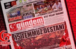 15 Temmuz 2017 Gündem Gazetesi