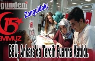 BEÜ; Ankara'da Tercih Fuarına Katıldı.