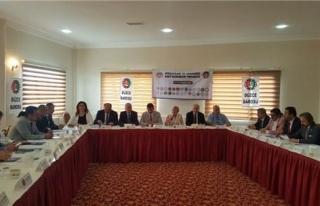 Karadeniz Baro Başkanları bildirisi açıklandı.