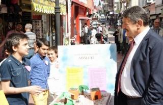Başkan Akın, mahalle sakinleri ile Buluştu