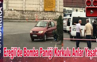 Ereğli'de Bomba Paniği Korkulu Anlar Yaşattı.