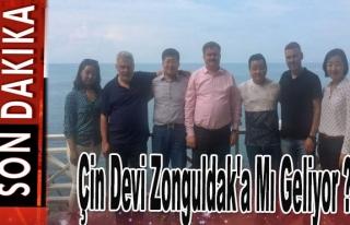 Çin devi Zonguldak'a mı geliyor?