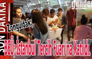 BEÜ; İstanbul tercih fuarı'na katıldı