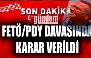 Zonguldak'ta FETÖ/PDY davasında karar
