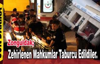 Zonguldak'ta Zehirlenen Mahkumlar Taburcu Edildiler