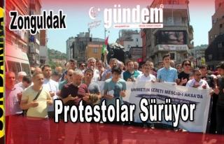 Zonguldak'ta Protestolar Sürüyor.