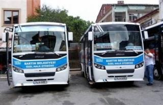 Bartın'da özel halk otobüslerine ilave yapıldı