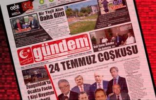 25 Temmuz 2017 Gündem Gazetesi
