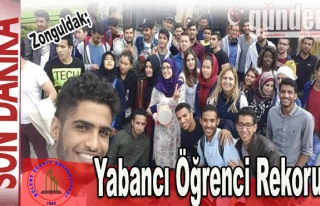 BEÜ'de  Yabancı Öğrenci Rekoru