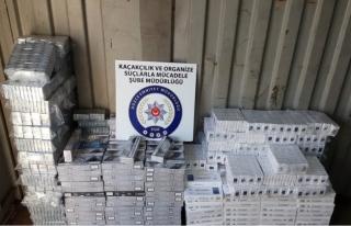 Düzce'de 6 bin 760 Paket Kaçak Sigara Ele Geçirdi