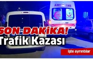 Bartın'da Kontrolden Çıkan Otomobil Kaza Yaptı:...