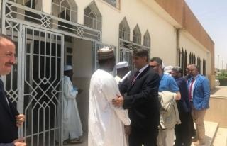 N'Djamena Üniversitesi Rektörü Barka KBÜ'ye ziyaret