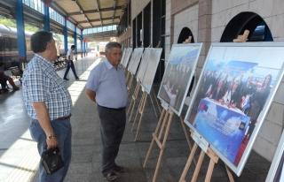 """Karabük Garı'nda Fotoğraf Sergisi"""""""