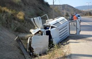 Karabük'te Kaza.Yaşlı Çifti Ölüm Ayırdı