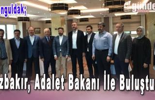 Özbakır, Adalet Bakanı ile buluştu