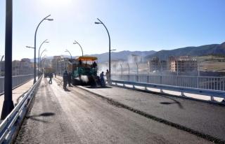 Kalan Köprü Güzergahında Bakım Onarım Çalışmaları