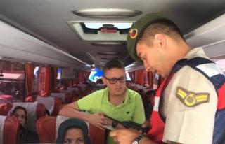 Düzce'de Jandarmadan Huzur ve Asayiş Uygulaması