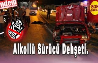 Ereğli'de Alkollü Sürücü Dehşeti