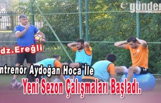Antrenör Aydoğan Hoca İle Yeni Sezon Çalışmaları...