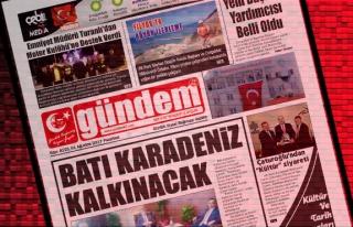 01 Ağustos  2017 Gündem Gazetesi