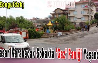 Hasan Karabacak Sokakta 'Gaz' Paniği Yaşandı