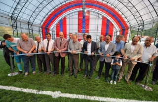 Ovacık ilçesinde Şehit Polis Öztürk Adına Futbol...