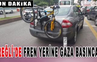 Ereğli'de Fren Yerine Gaza Basınca