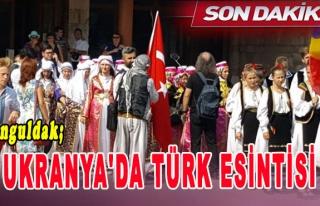 Ukranya'da Türk Esintisi