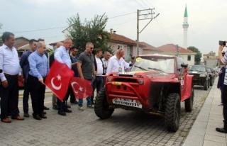 Konuralp Anma ve Turizm etkinliği off-road yarışları...