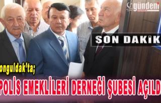 Zonguldak'ta Polis Emeklileri Derneği Şubesi açıldı