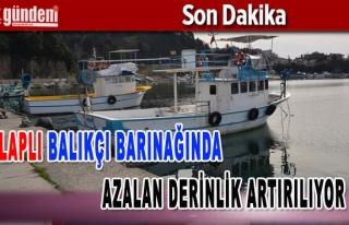 Alaplı Balıkçı Barınağında Azalan Derinlik...
