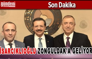 Hisarcıklıoğlu Zonguldak'a geliyor