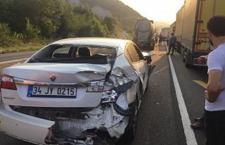 Bolu Dağı Üçköprü mevkinde Trafik Kazası: 1...