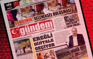 09 Ağustos 2017 Gündem Gazetesi