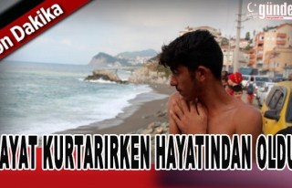 Zonguldak'ta hayat kurtarırken hayatından oldu