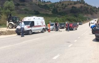Yığılca ilçesinde Patpat Kazası 1 Kişi Yaralandı