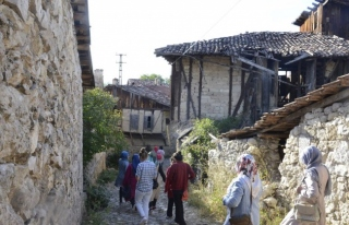 Şırnaklı öğrenciler Safranbolu'ya Geldiler