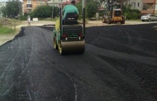Akçakoca Belediyesinde Asfalt çalışmaları sürüyor