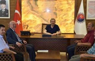Başkan Uzun; Karabük Belediye Başkanı Vergili'ye...