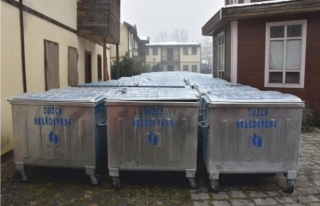 56 Mahallede 900 Adet çöp Konteyneri Yerleştirildi